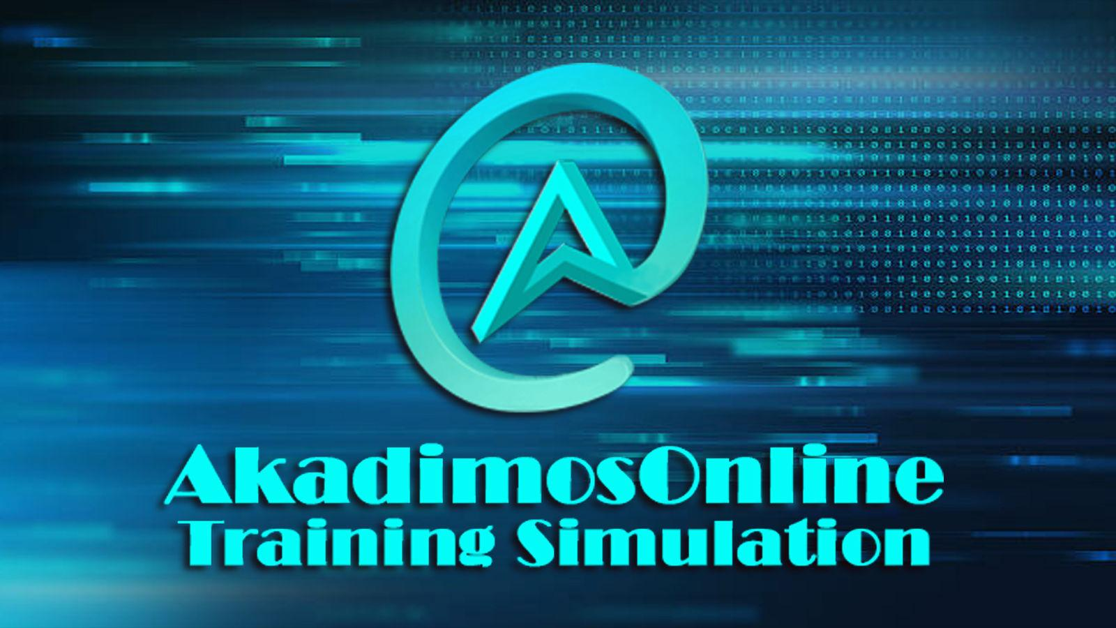 Ακάδημος Online Training Simulation